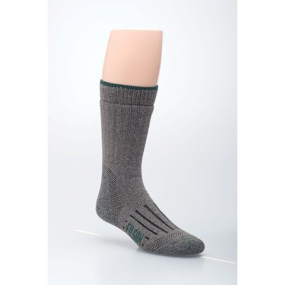 Women's Heavyweight Primaloft OTC Socks in Light Grey Size: Extra large (13 - 15)