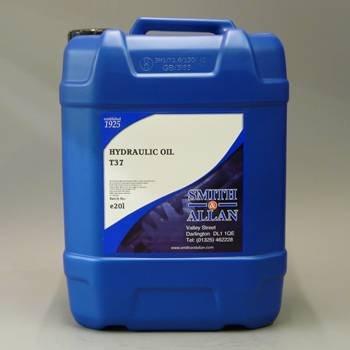 Smith & Allan Hydraulic Oil T37 : Size - 5lt