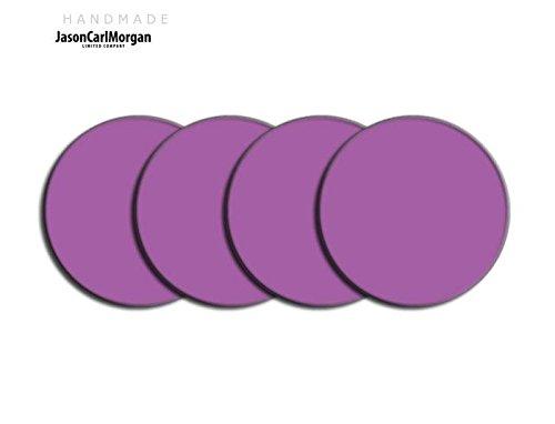 Telecommande JCM Jante en alliage Bouchon Badges pour SAAB FORD BMW (CLR 60 mm)-Violet