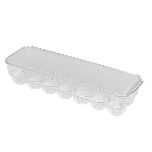 Pro-Mart DAZZ Fridge Plastic Egg Storage Container, 14 Eggs (Egg Containers For Refrigerator compare prices)