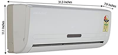 Voltas 122DYE  Split AC (1 Ton, 2 Star Rating, White)