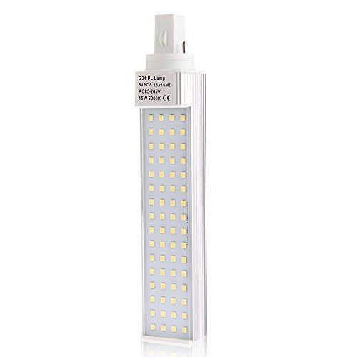 G24 White 64 Leds 2835 Smd Light Lamp Bulb 15W 1350Lm Ac100-240V