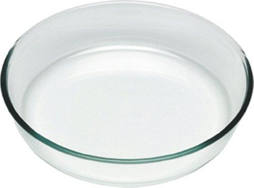 Pyrex Classic Tortiera, Vetro, Trasparente, Diametro 26 cm