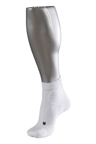 Falke TE2 Short Men's Tennis Socks - White, 5-7