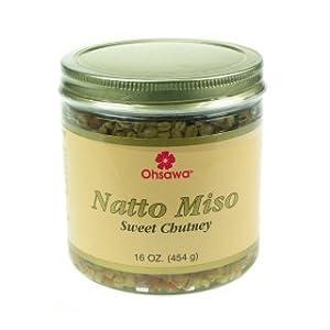 Natto Miso Condiment - Ohsawa -16oz