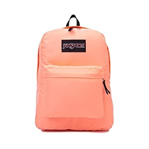 JanSport Superbreak Backpack - 1550cu in Coral Peaches, One Size