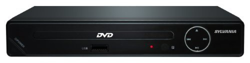 SDVD6670 Progressive Scan Compact HDMI DVD Player, 1080p Upconvert with USB Input