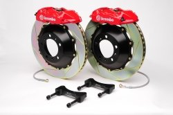 Brembo 2P2.8031A2 GT Big Brake Kit Rear Slotted Pontiac G8 08-09