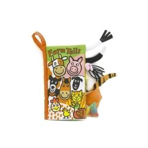 Jellykitten - Farm Tails - Soft Book