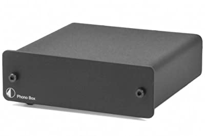 Pro-Ject Audio - Phono Box DC - MM/MC Phono preamp with line output - Blk from PRO-JECT