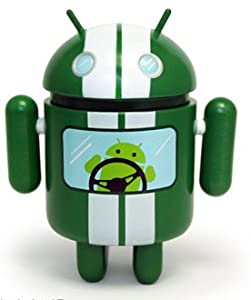 Android Mini Collectible Series 02 Racer 1/16 Ratio Vinyl Toy Robot Figure