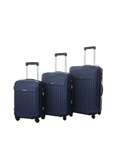 JEAN LOUIS SCHERRER Set de 3 trolleys rígidos 25100