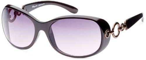Burgmeister Damen Sonnenbrille, SBM110-271, Gr. one size, Rot (Madrid)