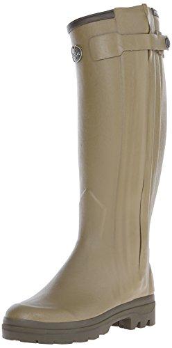 Le Chameau Footwear Women's Chasseur Rubber Boot, Green, 38 EU/7 M US