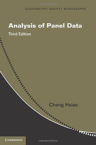 Analysis of Panel Data (Econometric Society Monographs)