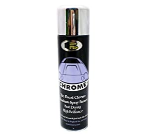 bosny chrome spray paint aerosol can high quality not silver iso 9001. Black Bedroom Furniture Sets. Home Design Ideas