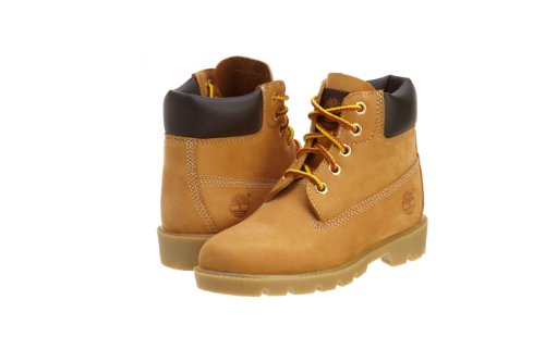 Timberland Children'S 6 Inch Classic Boot,Wheat Nubuck,Us 2 M