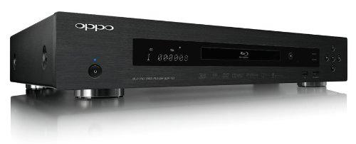 Oppo BDP-103 Region Free Blu Ray Player - A/B/C Blu Ray and 0-8 DVD Player Best player! 4k Up-Scaling with Qdeo Processing!!