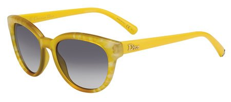 Christian Dior  Christian Dior Tiedye 2/S Sunglasses Flower Yellow / Dark Gray Shaded