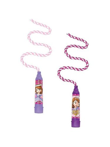 """Amscan Disney Sofia the First Jumping Rope, Violet/Purple, 6' 11"""""""