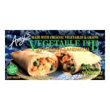 Amy's Vegetable Pot Pie Pocket, Organic, 5-Ounce Boxes (Pack of 12) (Pot Pie Sauce compare prices)