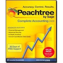 Peachtree By Sage Complete Accounting 2009 Multi