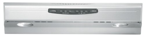 Broan QS242SS 300 CFM Stainless Steel Under Cabinet Hood, 42-Inch
