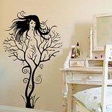 Creative-Sexy-Girl-Tree-Removable-Wall-Sticker-Decal-Home-Decor-Vinyl-Mural-Art-1pcs