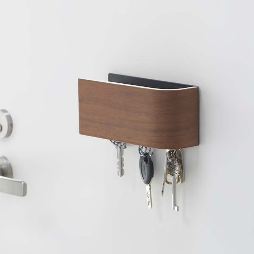 N-side インテリア 磁石式 ドア付け キーフック マ○○ック ブラウン