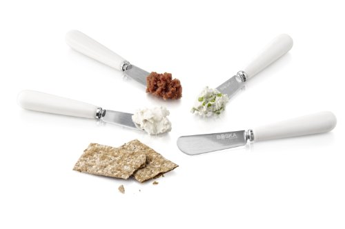 Boska Holland Life Collection Cheese Spreading Knives, Set Of 4