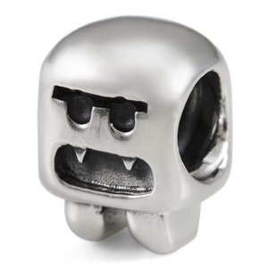 Sterling Silver Sock Monster European Bead