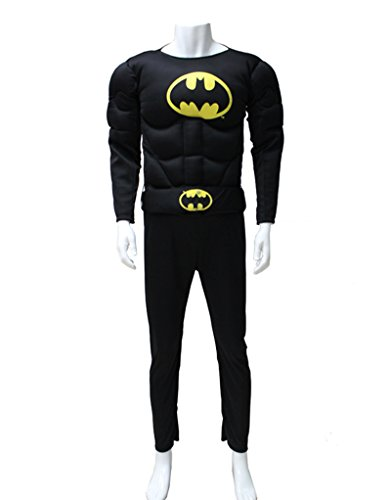 Among Mens Muscle Chest Batman Costume
