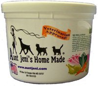 Aunt Jeni's Home Made Frozen Raw Pet Food