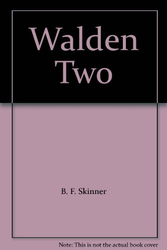 essay on walden two Walden is the product of a two-year period when thoreau lived such activity and thought came walden, a series of 18 essays describing thoreau's experiment in.