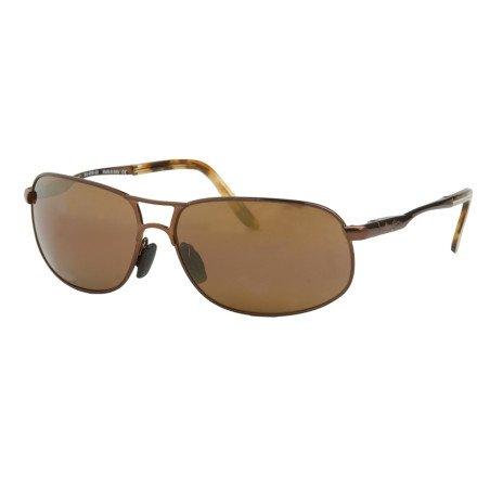 Maui Jim Bayfront Sunglasses - Gloss Brown/ HCL Bronze