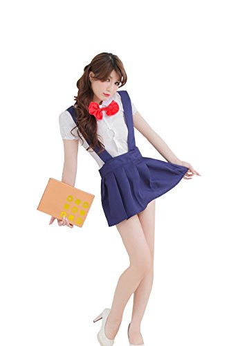 Sexy Lady high school girl dress uniform women adult costume full outfit