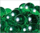 ビー玉 カラーマーブル 17mm グリーン  約200入
