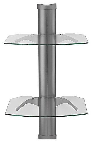 Omnimount Tria 2 Shelves for AV Components - Platinum Black Friday & Cyber Monday 2014