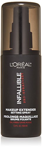 L'Oreal Paris discount duty free L'Oreal Paris Cosmetics Infallible Pro-Spray and Makeup Extender, Setting Spray, 3.4 Fluid Ounce