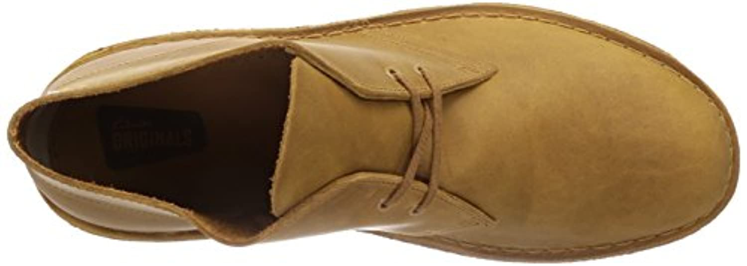 Clarks Original Desert Boot Mustard Mens Shoes 10 UK