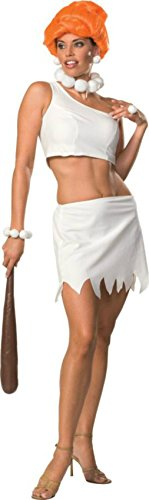 Rubies Womens Wilma Flintstone Cave Girl Halloween Themed Party Fancy Costume