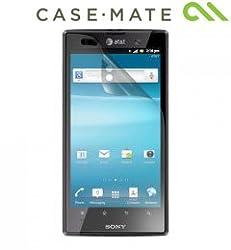 Sony Xperia Ion Screen Protectors - Anti-Fingerprint. Anti-Glare - 2PK