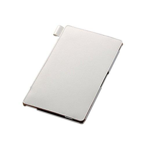 ELECOM SONY Xperia Z3 Tablet Compact ソフトレザーカバー 4アングルスタンドタイプ ホワイト TB-SOZ3APLF2WH