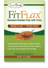 FitFlax - Golden Roasted Flax Seeds with Chia Seeds
