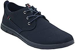 Pinellii Mens Casual Canvas Lace up B01HTRAG46