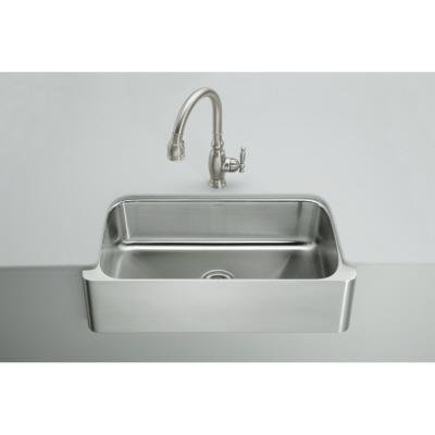 Apron Sink Cheap : Cheap KOHLER K-3086-NA Verity Apron-Front Undercounter Kitchen Sink ...