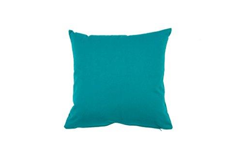 Eridaneo Cuscino Bombato MAGU', Colore: Turchese, Misura: cm 50X50