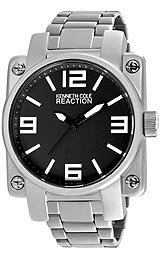 Kenneth Cole Reaction Silver Link Men's watch #RK3226