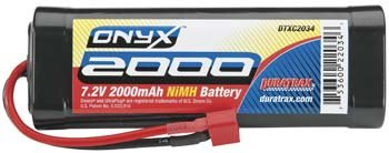 Duratrax NiMH Onyx 7.2V 2000mAh Stick Deans U Plug