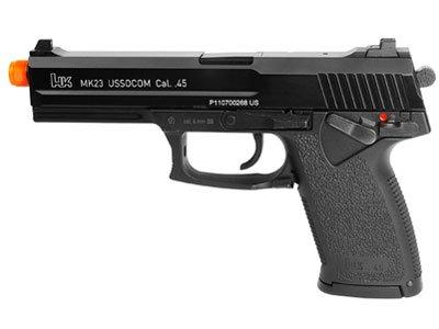 H&K MK23 USSOCOM Gas Blowback Airsoft Pistol airsoft gun